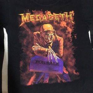Megadeth Peace Sells Shirt